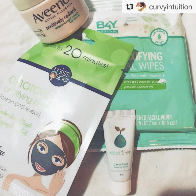 Repost curvyintuition getrepost  My Sunday evening skin routine lifestylebloggerhellip