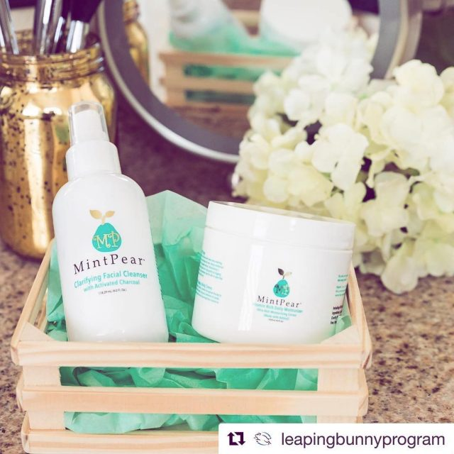 Repost leapingbunnyprogram getrepost  New giveaway with mintpearbeauty! Enter tohellip